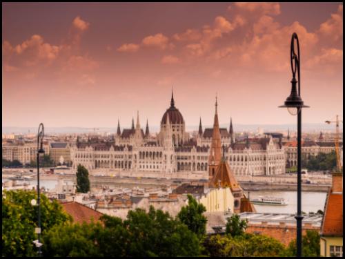 Будапешт в августе