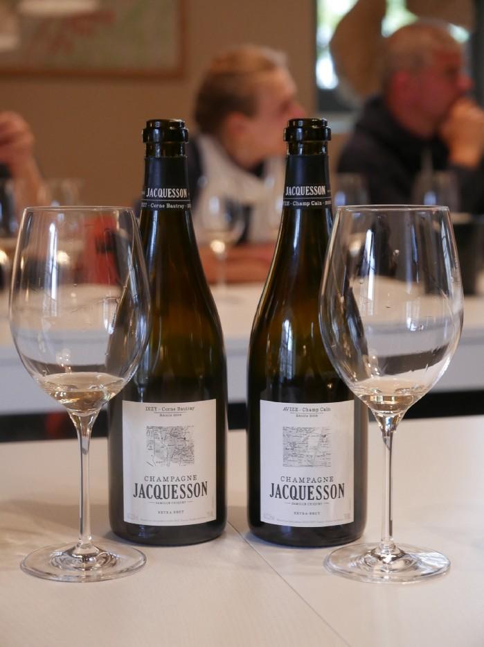 Jacquesson single vineyards: Champ Caïn in Avize and Corne Bautray in Dizy