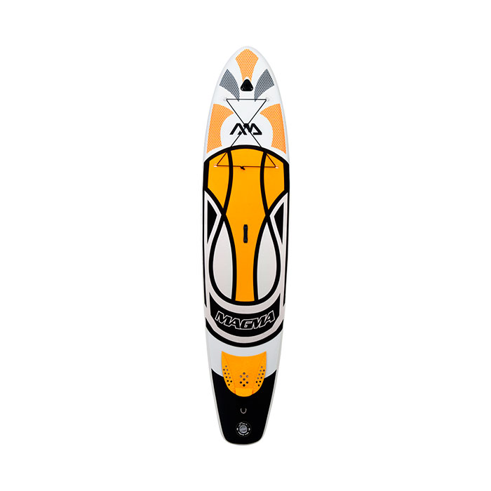 Купить SUP-доску Aqua Marina MAGMA White/Orange - цена, продажа, каталог.