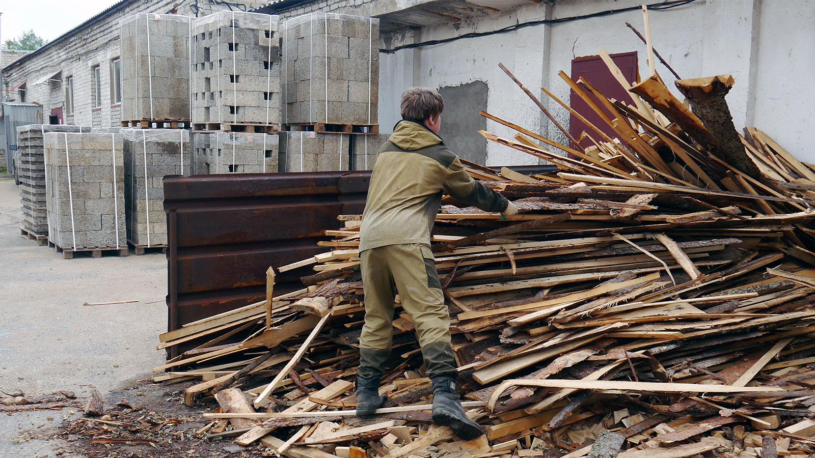древесина для арболита