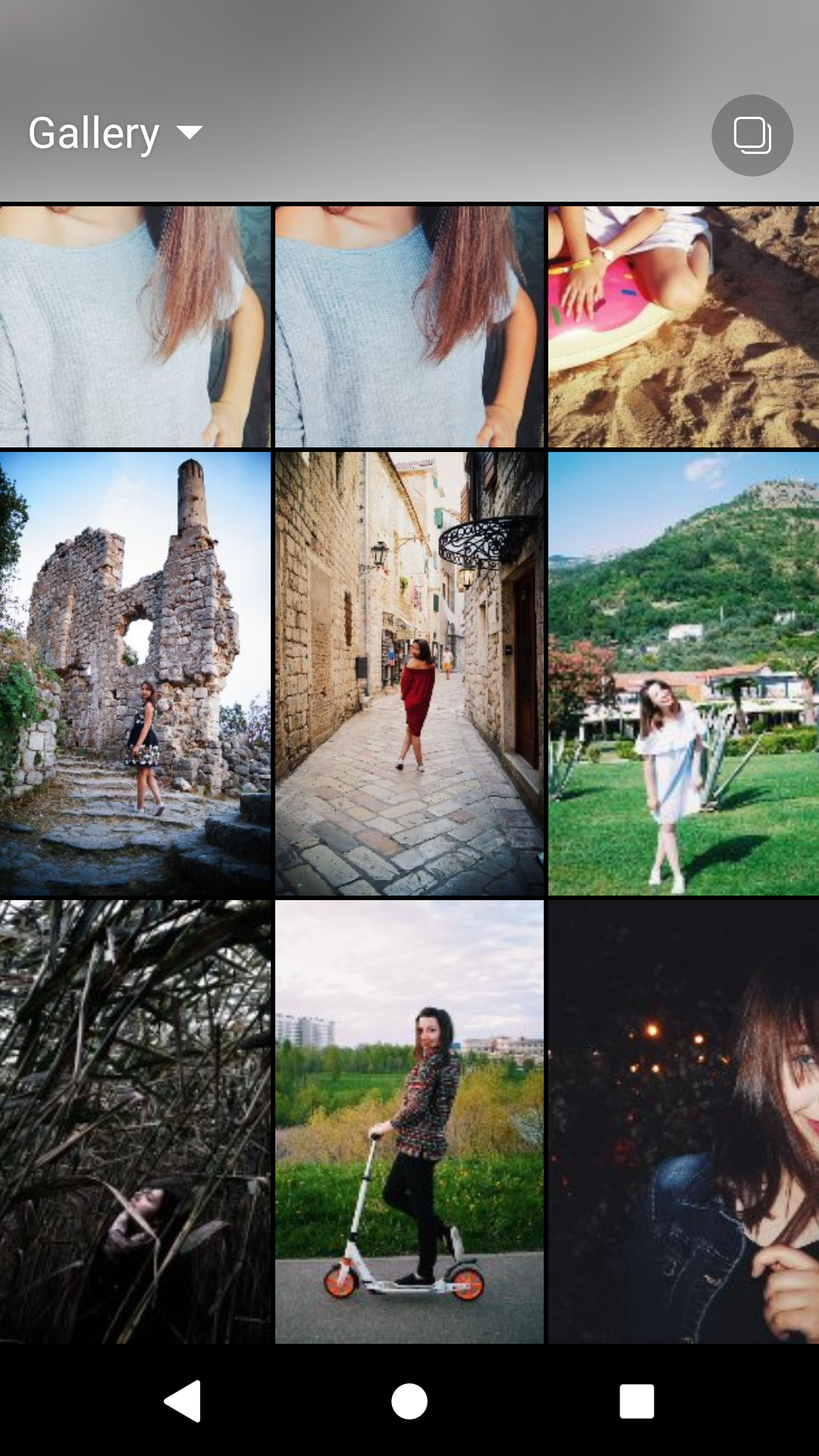 Instagram Gallery of your phone