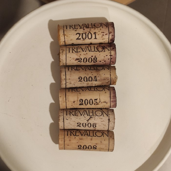 Domaine de Trévallon Rouge & Blanc vertical tasting