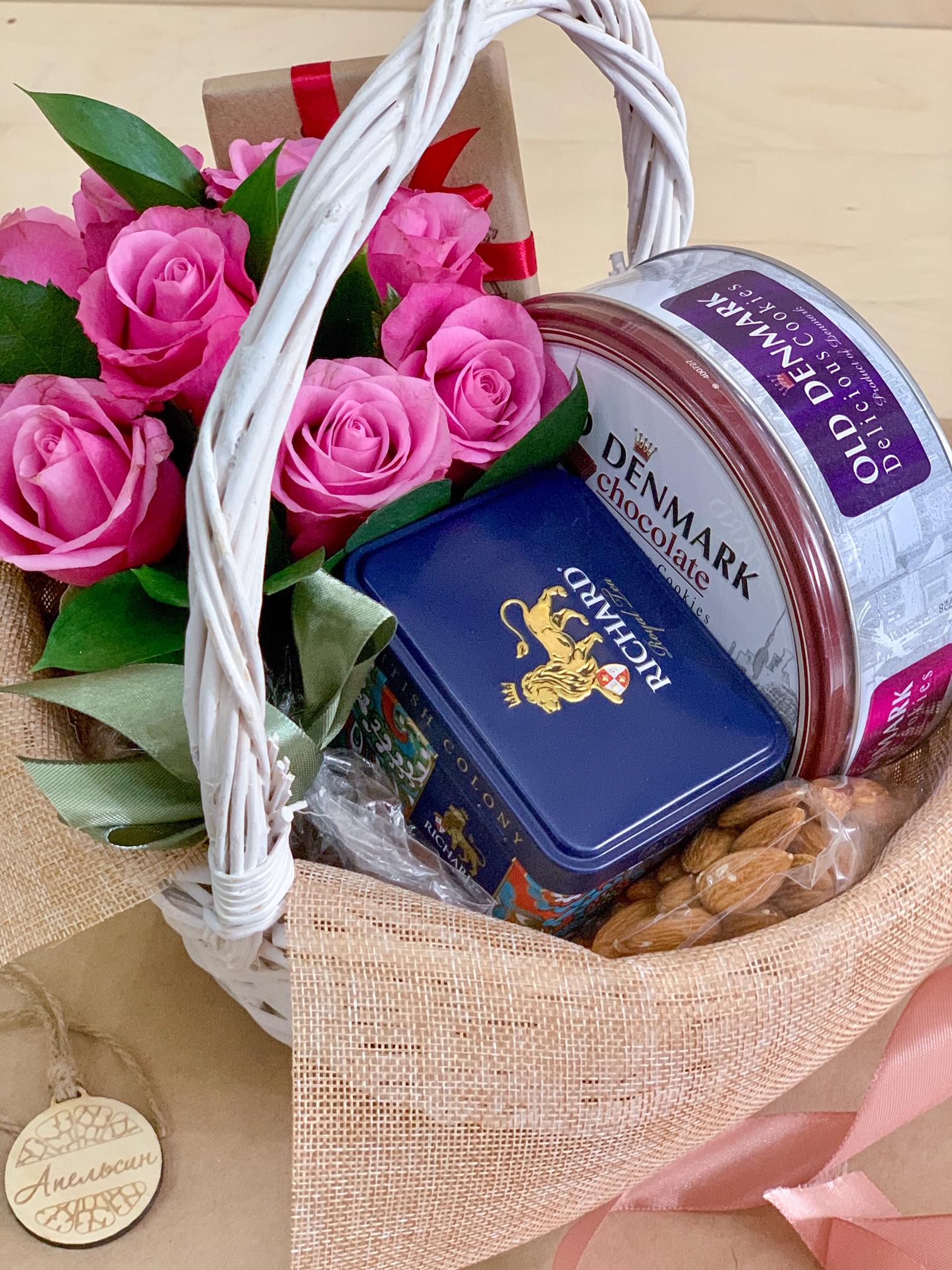 Красивая и вкусная корзинка, Артикул 0151