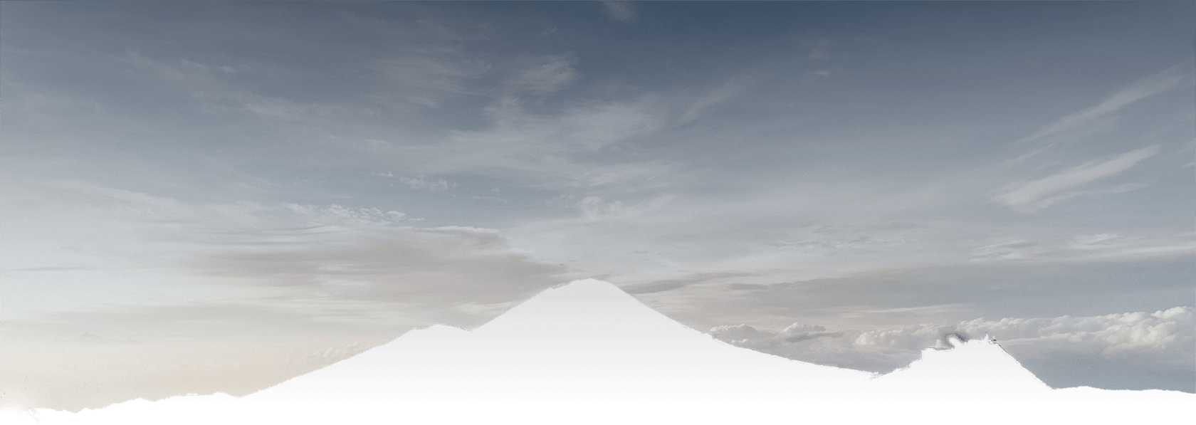 Berg achterste deel voor parallax effect