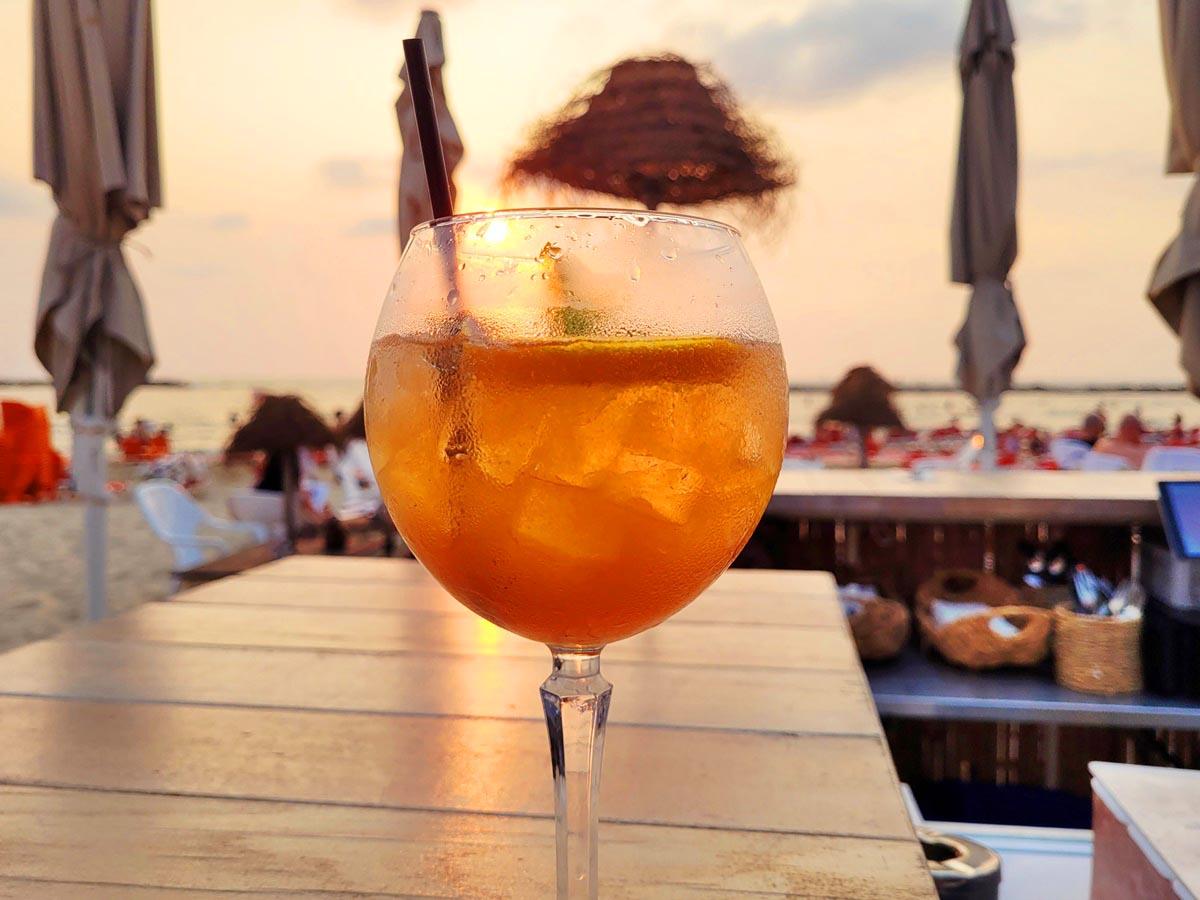 Ресторан Лала ленд, пляж Гордон Тель-Авив. Блог Вкусный Израиль.