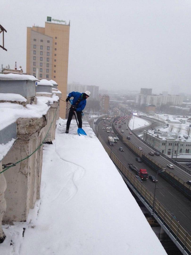 оказание услуг по очистке снега