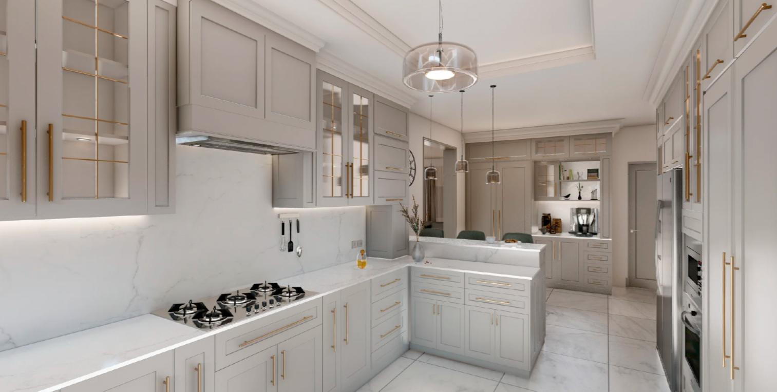 Дизайн кухни в стиле Неоклассика