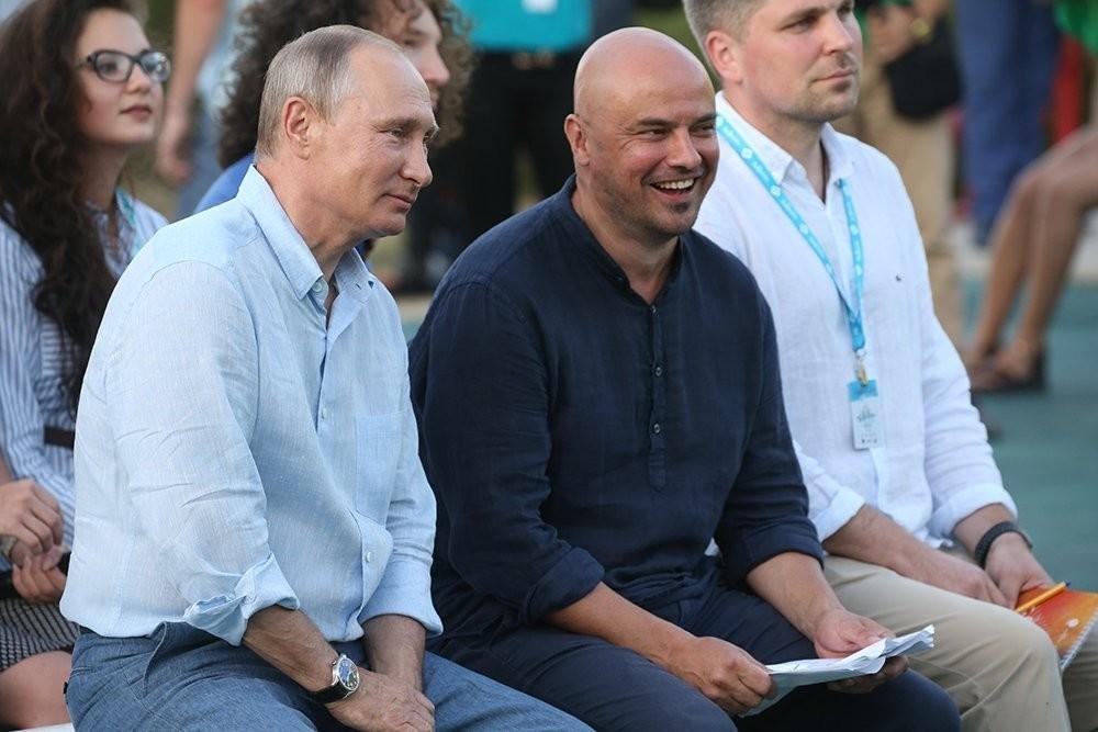 Владимир Путин и Владислав Маленко