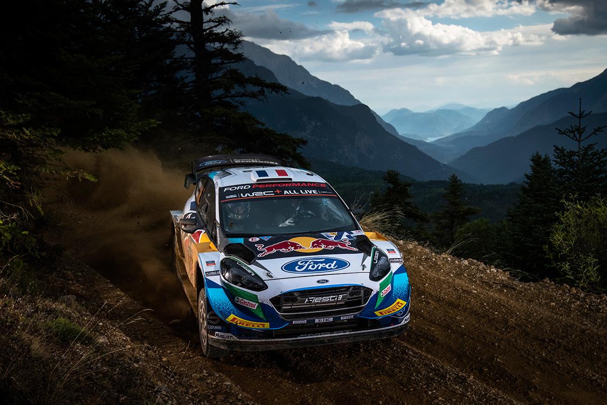 Адриен Фурмо и Рено Жамуль, Ford Fiesta WRC, ралли Акрополь 2021