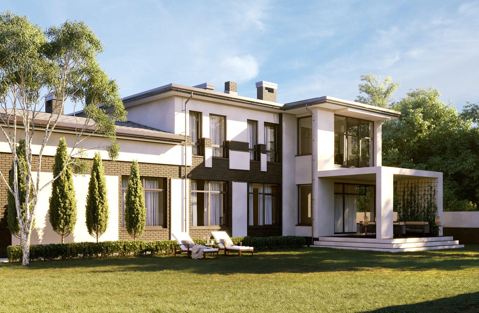 Полный проект современного дома