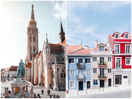 Будапешт и Лиссабон в январе