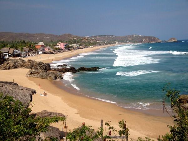 Зиполите пляж