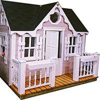 Терраса для детского домика