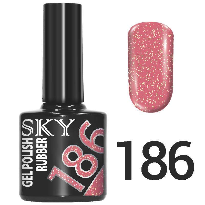 Sky gel №186