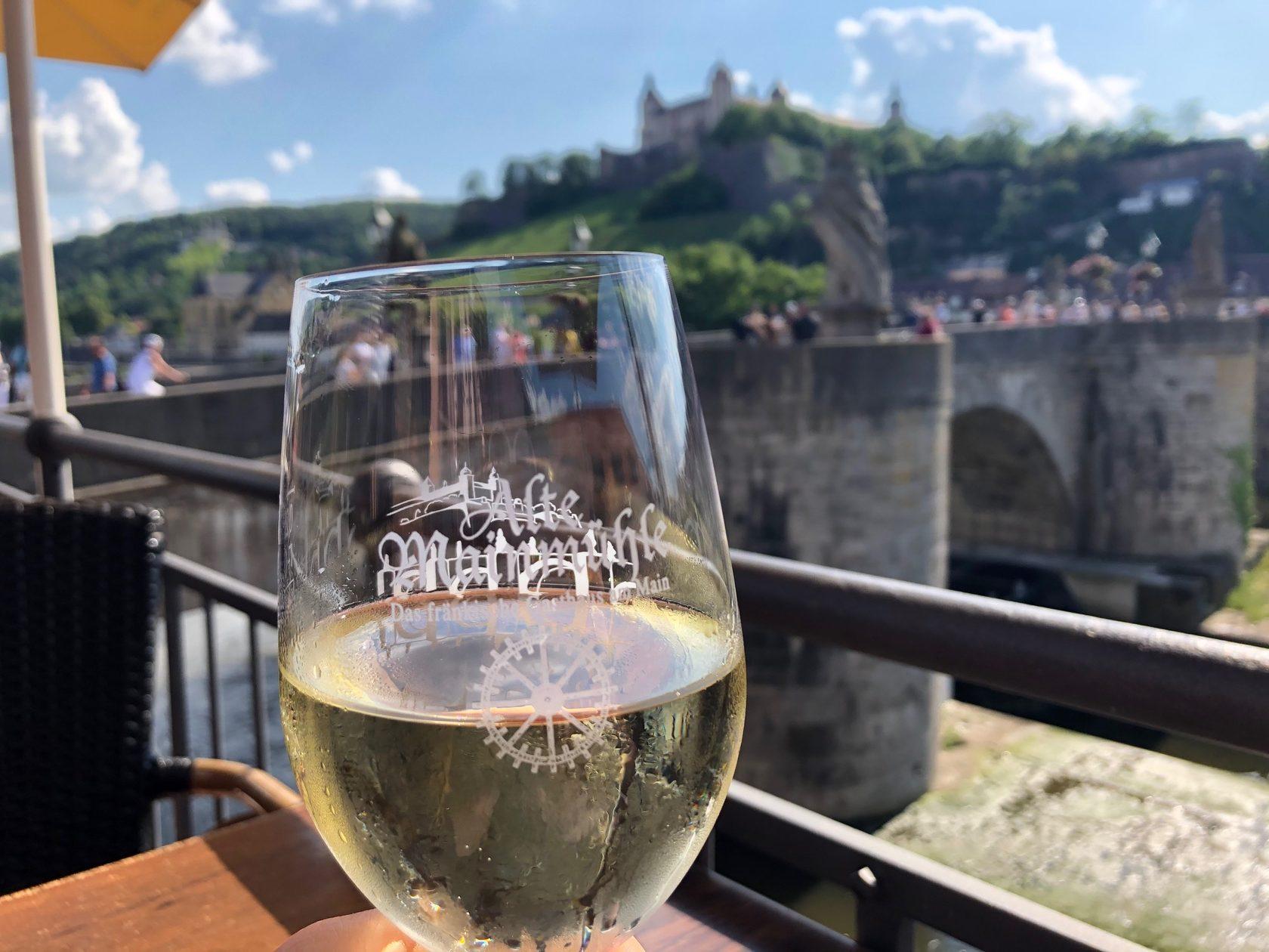 белое вино город Вюрцбург бавария германия