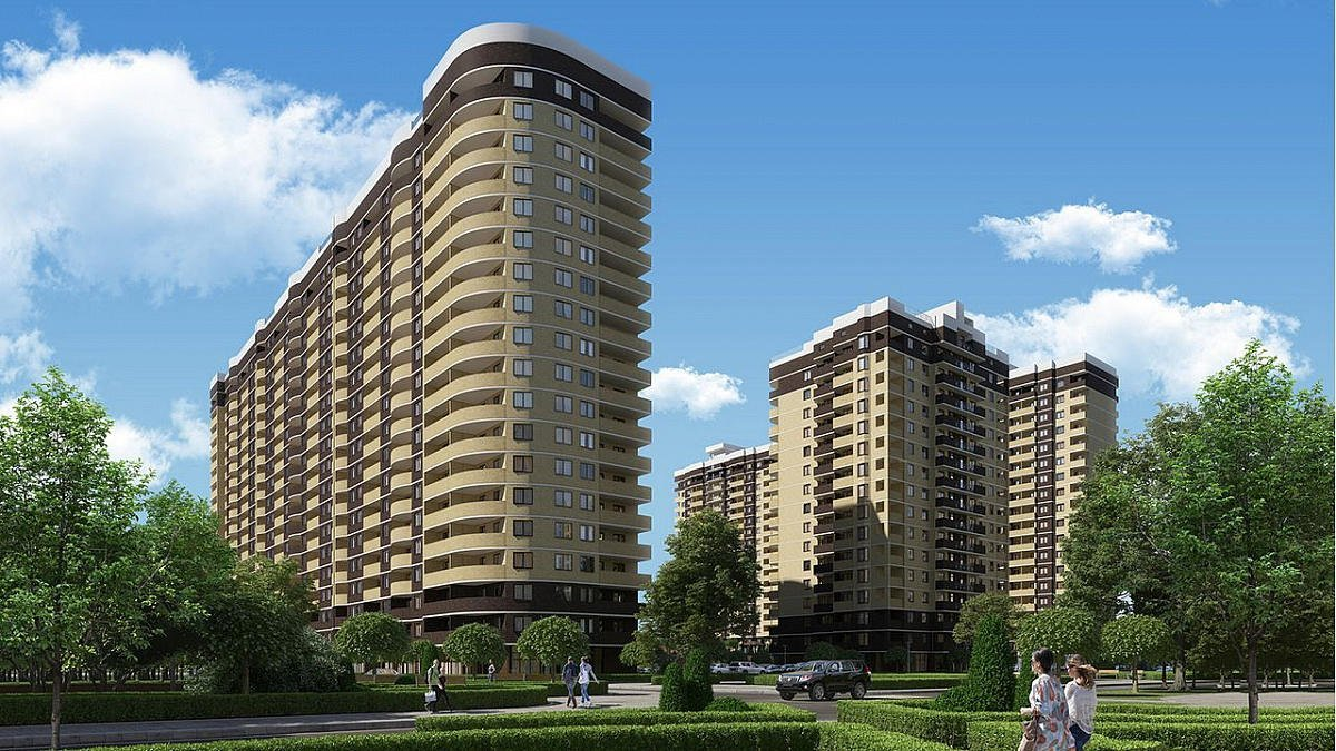 жилой комплекс Альпы Краснодар