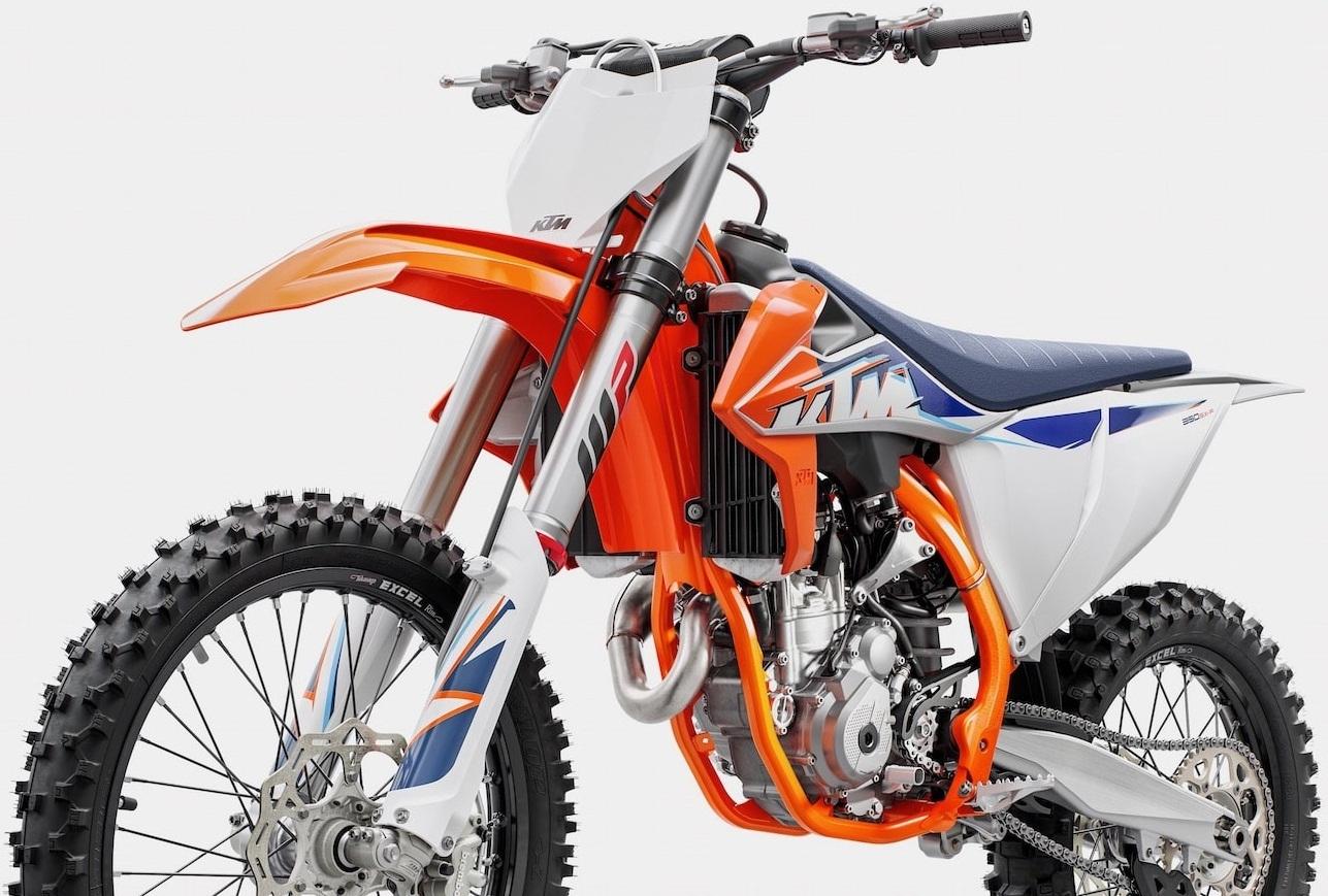 Кроссовые мотоциклы КТМ 2022 года
