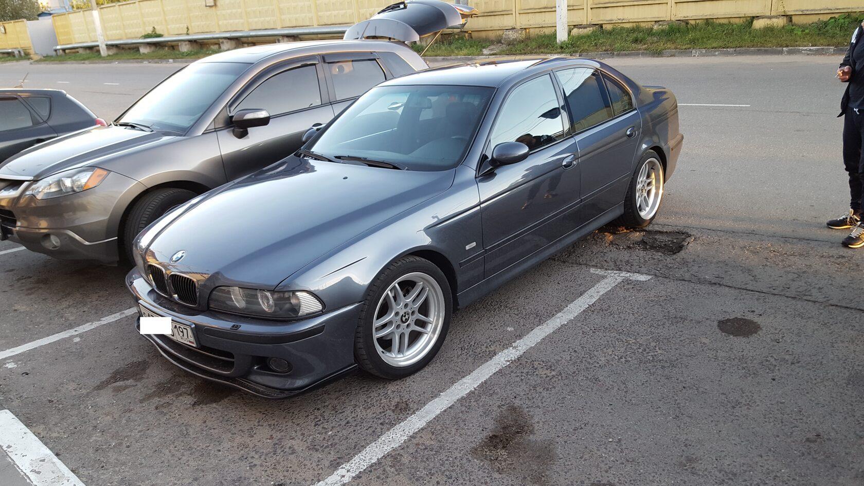 BMW 5 e39 автозвук
