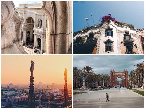 Барселона и Милан в октябре