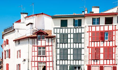 Традиционные дома в Стране басков