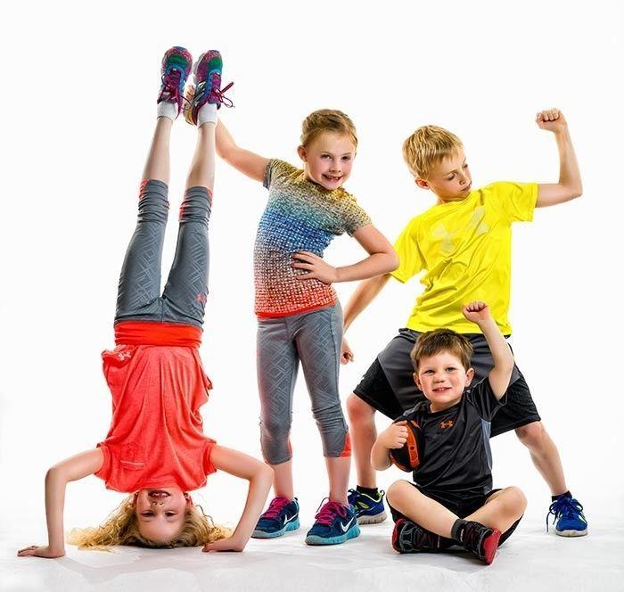 Картинка фитнес для детей
