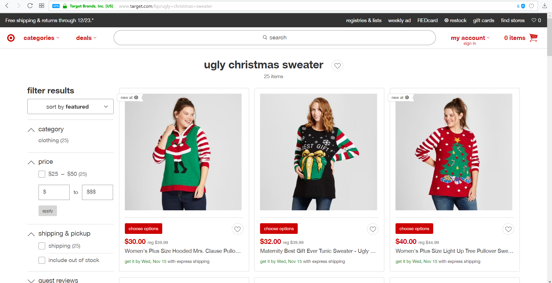 Ugly Christmas Sweater: Mass Appeal Product | Dropwow