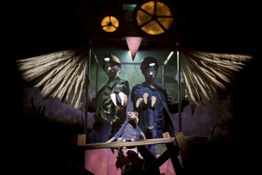 «Крот, который мечтал увидеть солнце», Театр «Кот Вильям»