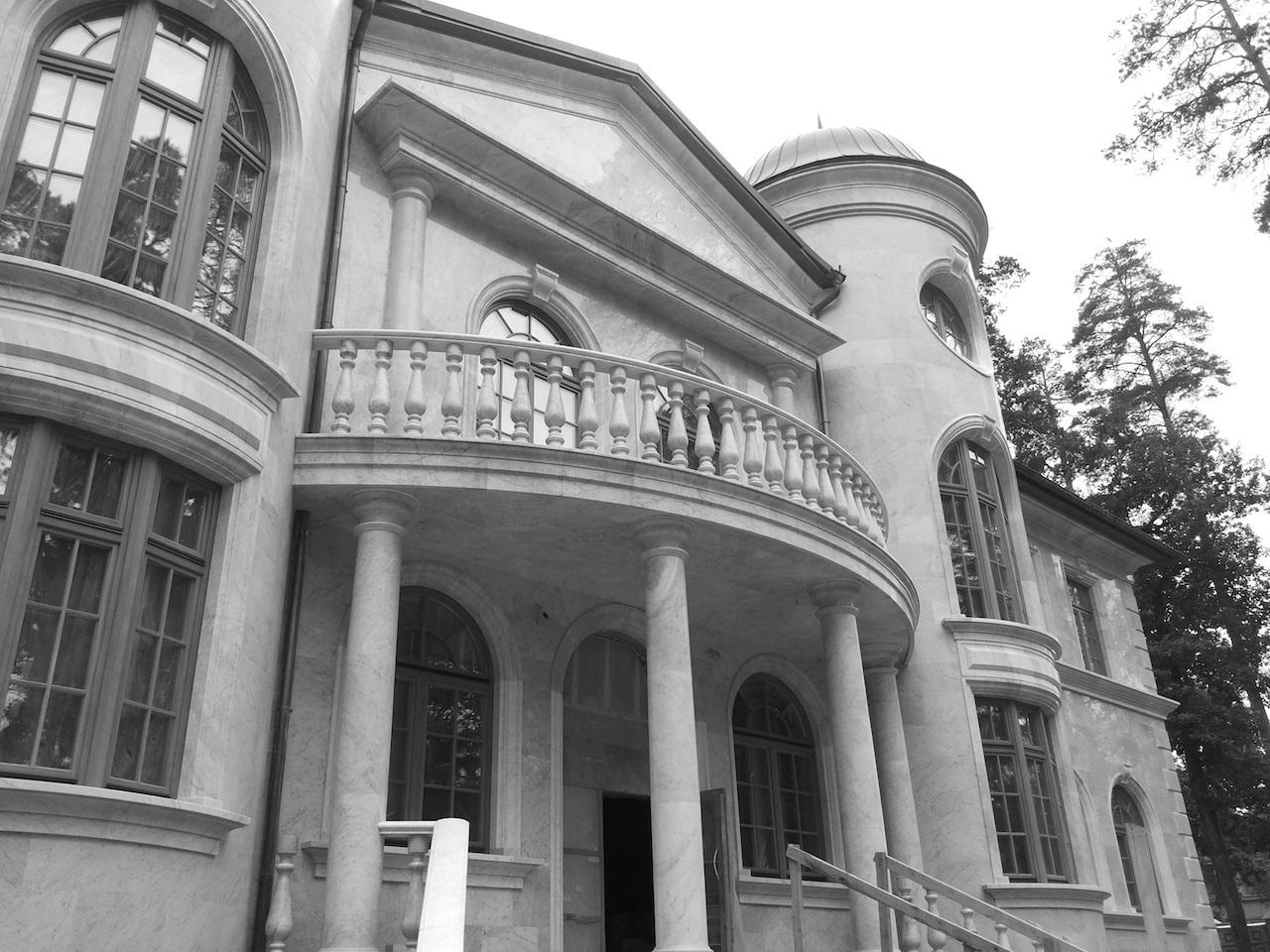 вентилируемый фасада здания