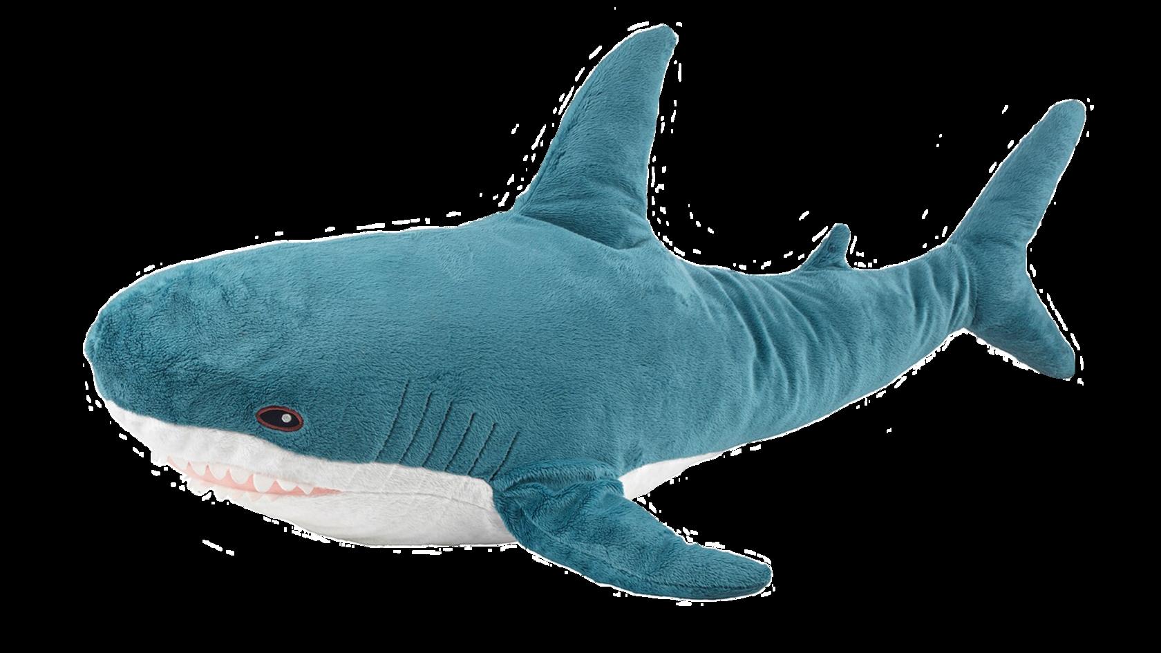 """Акула из икеи - Мягкая игрушка """"Блохэй"""""""