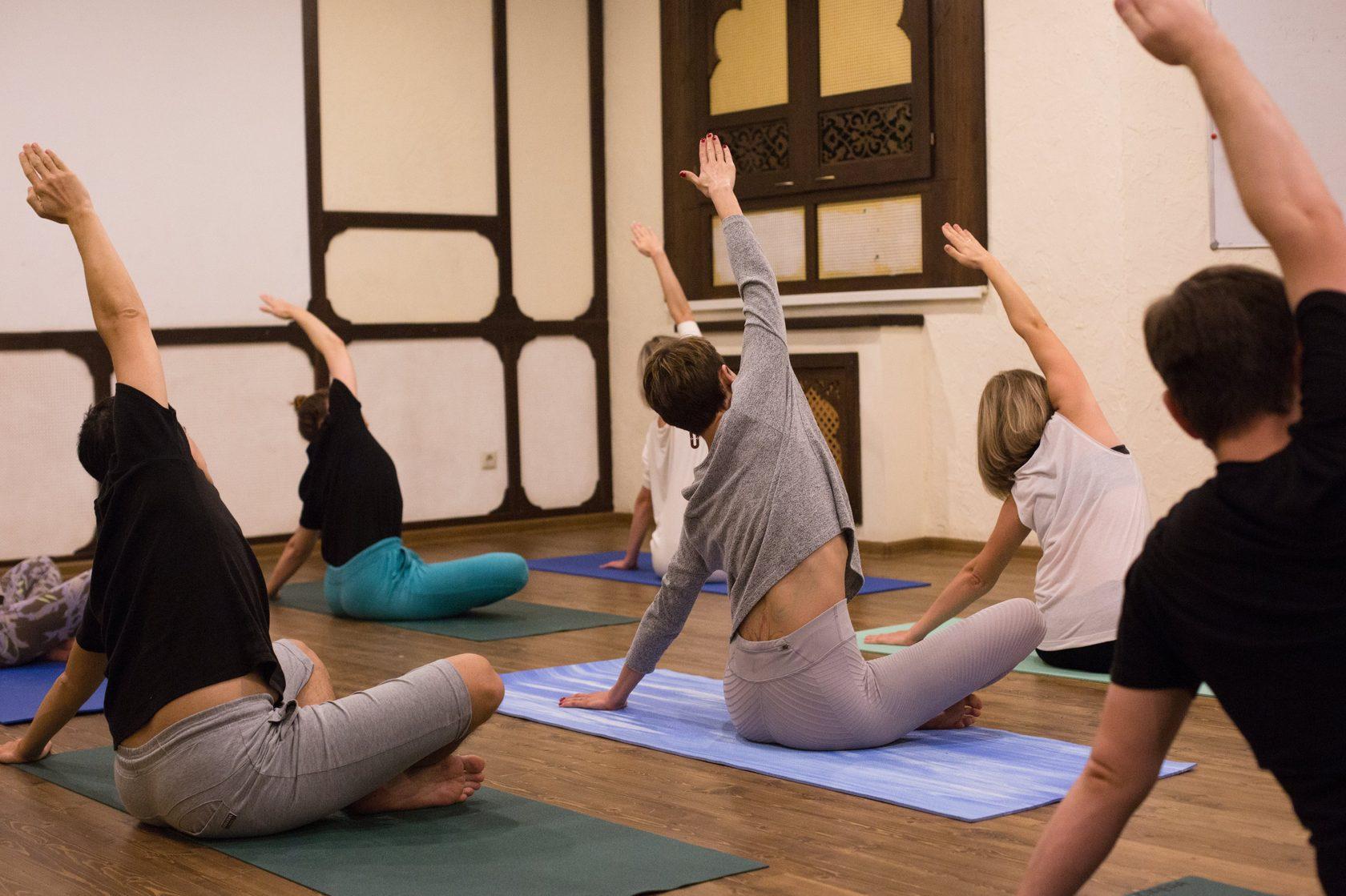 Йога курс для похудения