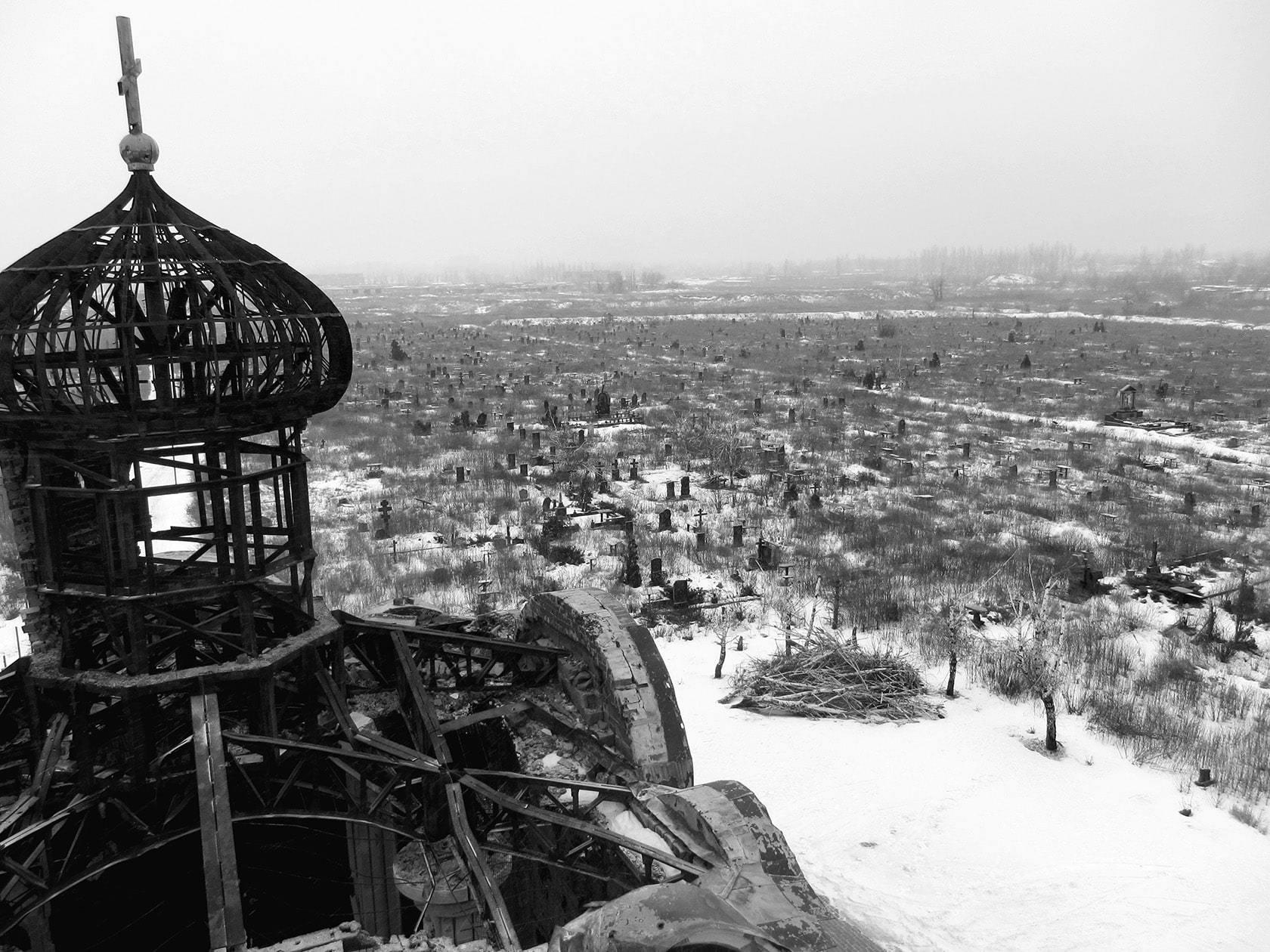 Храм в честь Иверской иконы Божией Матери, Иверский монастырь, Донецк