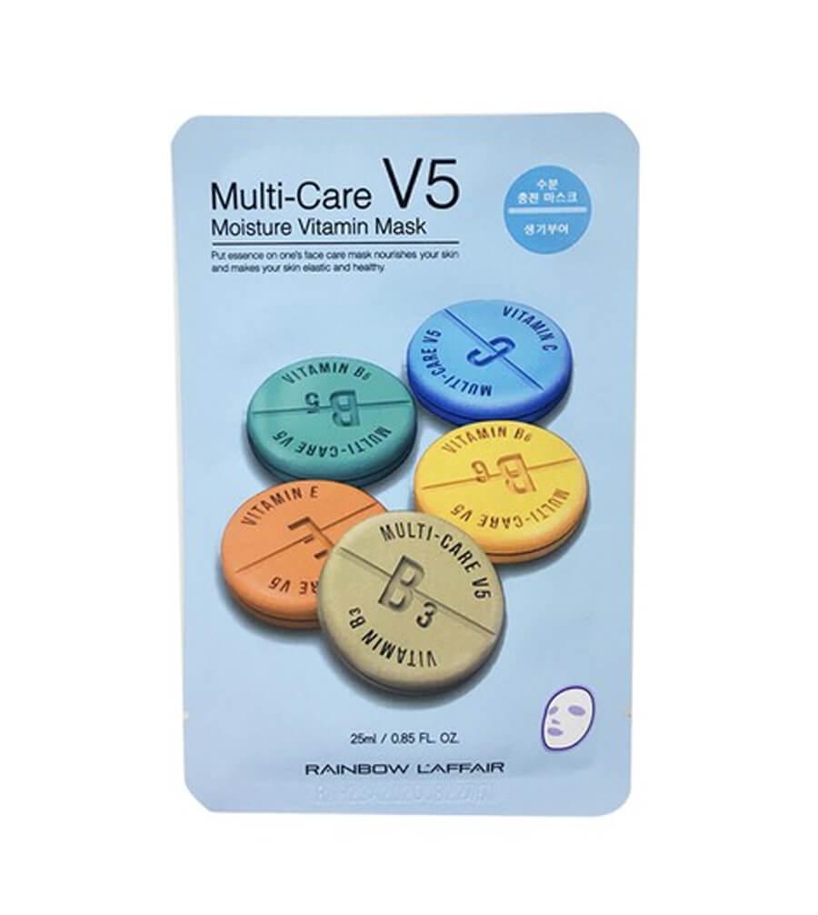 Увлажняющая маска Rainbow L'Affair Multi-Care V5 Moisture Vitamin Mask