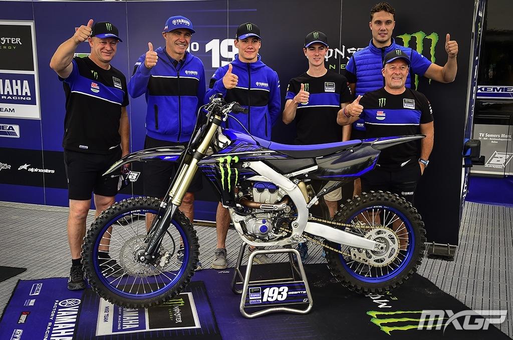 Яго Гертс и Максим Рено подписали контракт с Monster Energy Yamaha Factory MX2