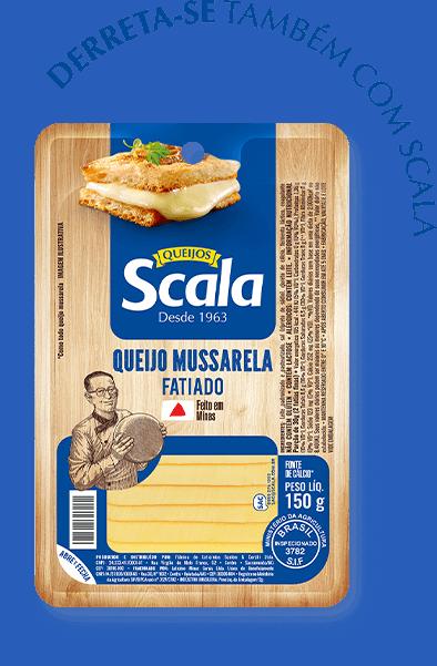 Queijo Mussarela Fatiada | Scala