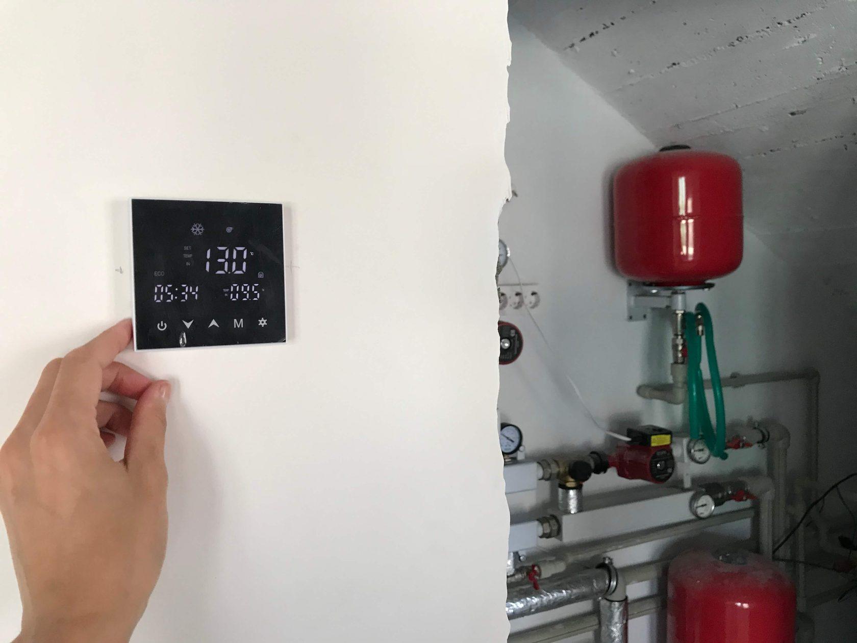 Использование тепловых насосов воздух-вода