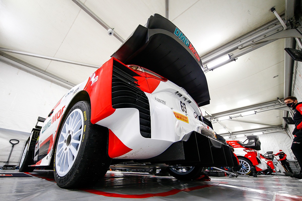 Toyota Yaris WRC Калле Рованперы и Йонне Халттунена, ралли Монте-Карло 2021