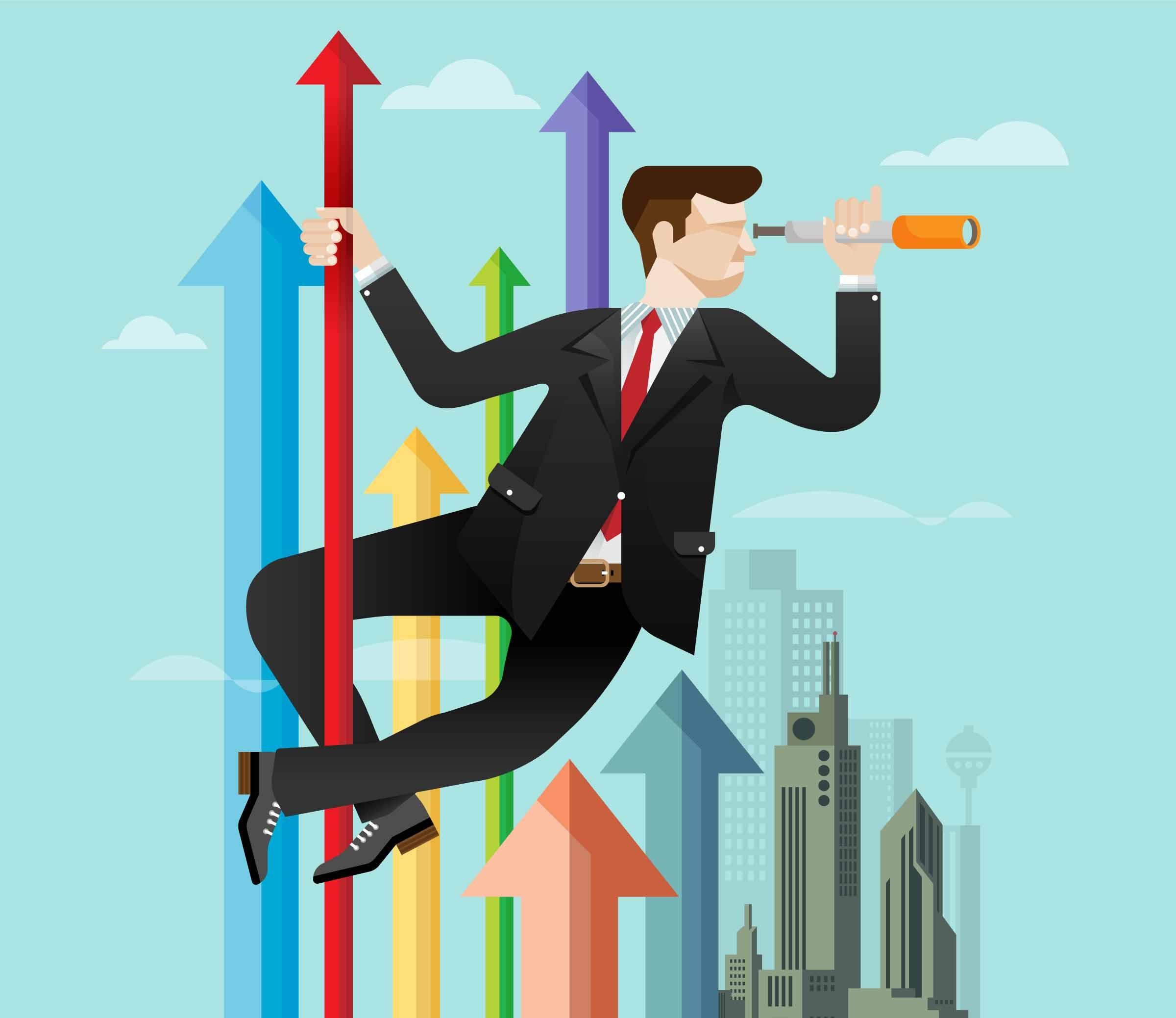 Рисованные бизнес картинки
