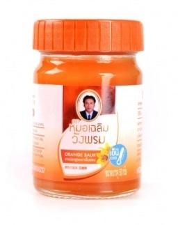 Фитобальзам для тела оранжевый от воспаления суставов WangProm, 50 гр