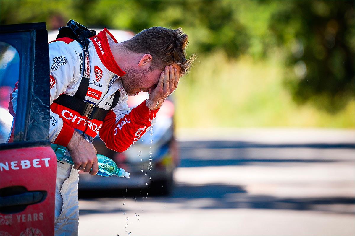 Мадс Остберг, Citroen C3 WRC, ралли Сардиния 2018