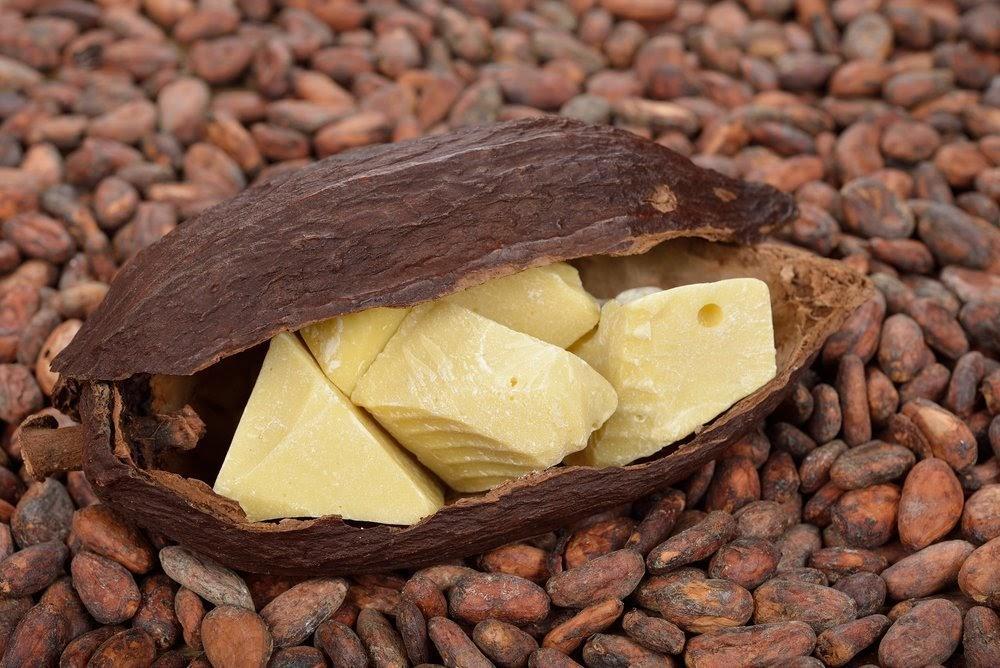 Какао-масло для создания шоколада