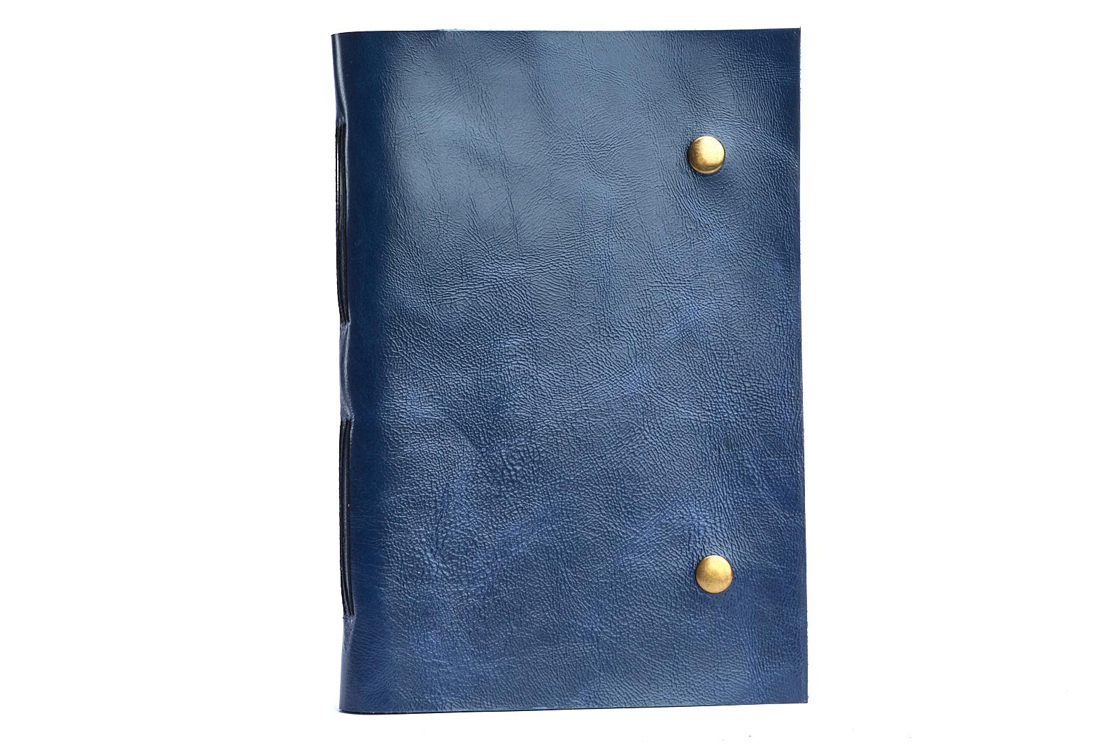Блокнот зі шкіряною обкладинкою B5 | Shuflia