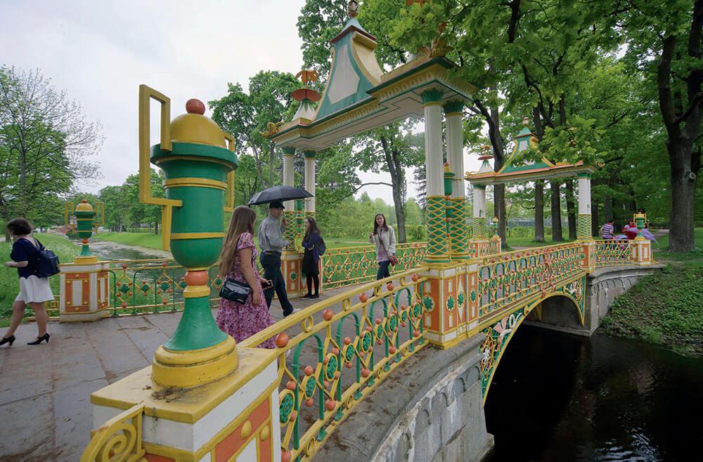 китайские мосты в Красном селе