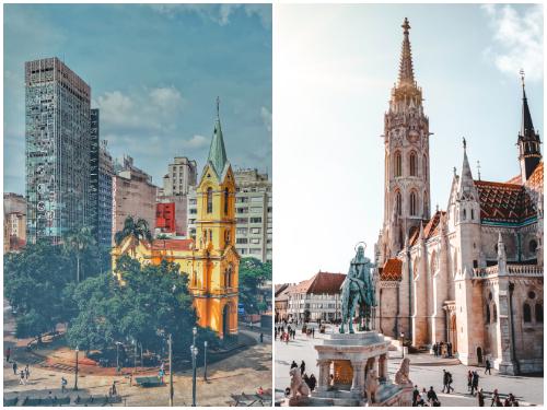 Сан-Паулу и Будапешт в июне