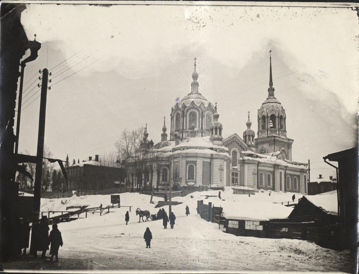 фото владимирской церкви снесенная киров норвежские