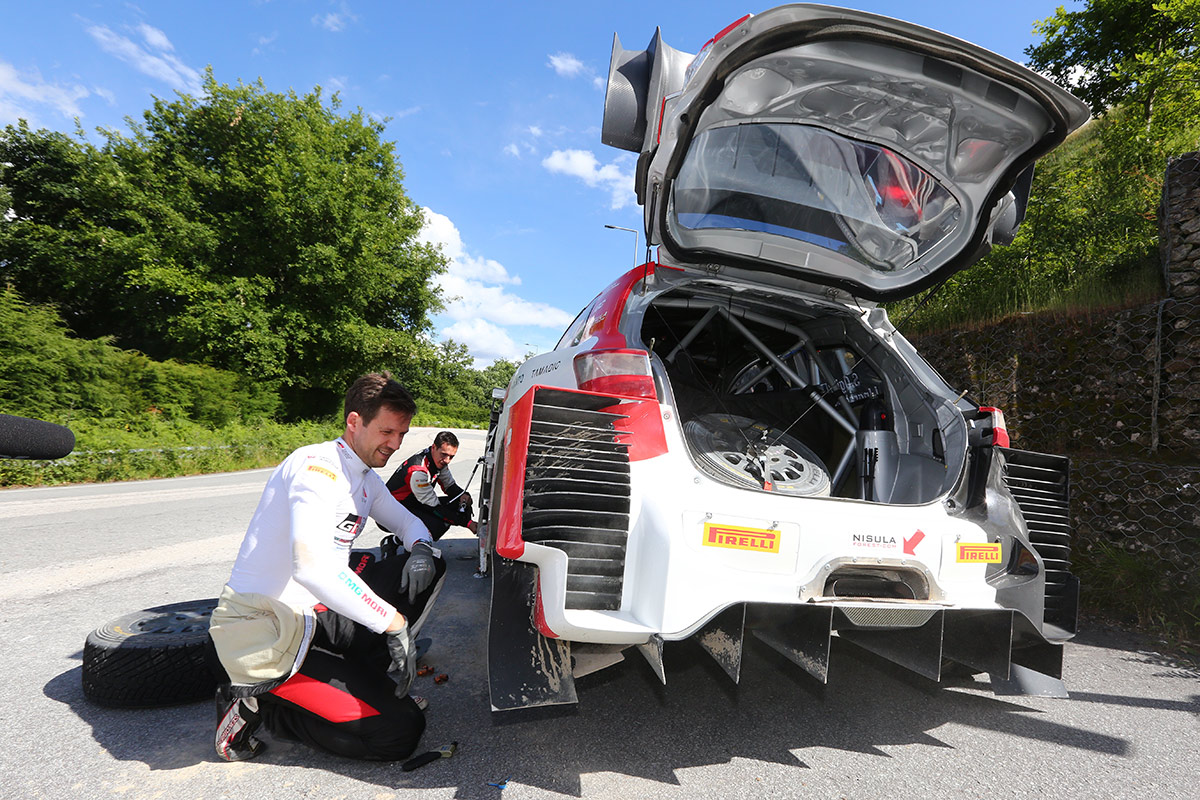 Себастьен Ожье и Жюльен Инграссиа, Toyota Yaris WRC, ралли Португалия 2021