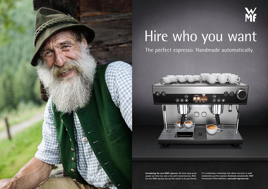 кофемашина wmf espresso бариста старик