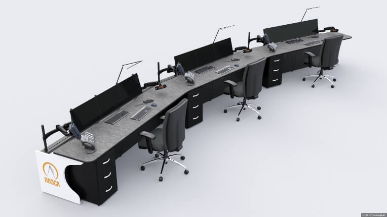 Диспетчерская консоль для АО «ЛОЭСК»