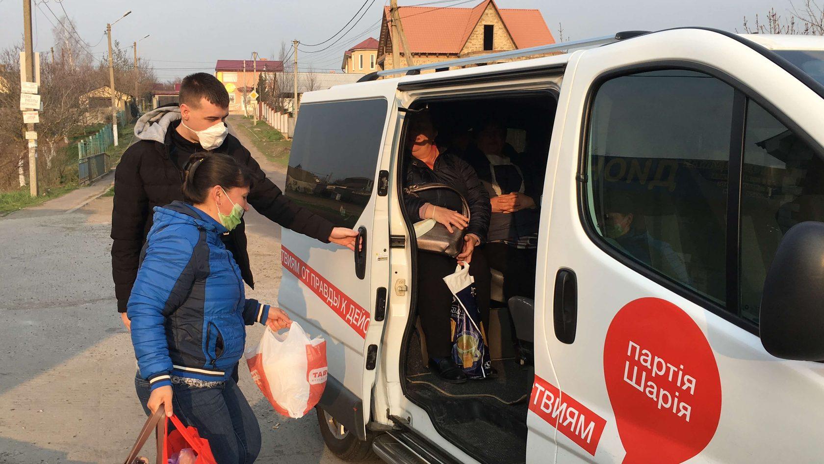 Подвоз медиков черноморской больницы