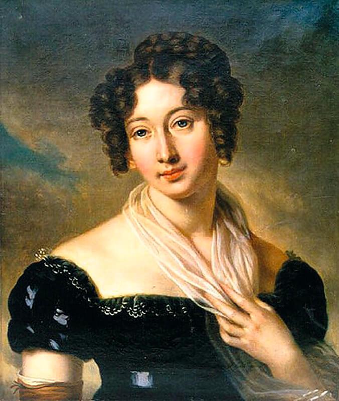 Жена французского дипломата, фрейлина при дворе Александра I графиня Шуазель Гуффое первый раз посетила Петербург в 1824 году