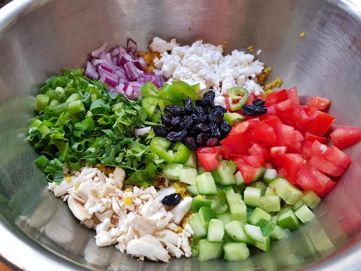 Салат табуле - оригинальный рцепт. Израильская кухня.